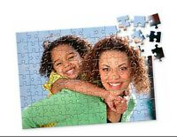 Personalised Jigsaw Puzzle Add Photo and Message FREE Birthday / Mothers day A5