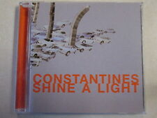 CONSTANTINES SHINE A LIGHT USED PROMO ADVANCE CD CANADIAN INDIE ROCK ART PUNK