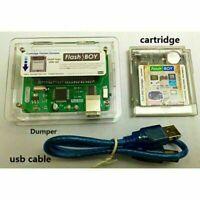 For Gaming GB/GBC Game Boy Color 16Mbit Flash Boy Dumper Burner Cartridge 64Kb