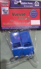 Set 2 Fischietti In Plastica Colorati blu Calcio Bambini Gioco  Italia