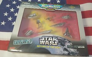 New! Star Wars💥RETURN OF THE JEDI💥MICRO MACHINES💥COLLECTOR EDITION💥STARSHIPS