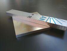 Plangefräste Aluminium Plaque en Fonte Filmés 10x200xLänge 64,50€// M + 1€ Pro