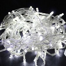 White 10Meter 110V 100 LED Christmas Tree Wedding Fairy Party String Lights Lamp