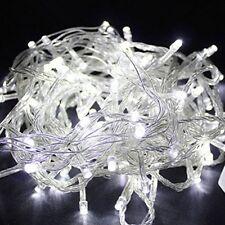 White 10Meter 110V 100 LED Christmas Tree Wedding Fairy Party String Lights Lamp