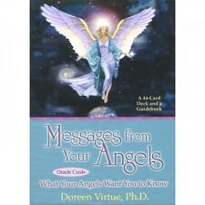 Messages from your Angels Oracle Cards, by Doreen Virtue, NEW sealed
