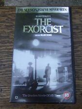 The Exorcist 18 cert VHS Video 2001, Director's Cut VHS