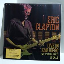 ERIC CLAPTON With JJ CALE Live In San Diego VINYL 3xLP Sealed Gatefold