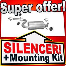 Middle Silencer ALTEA LEON TOLEDO OCTAVIA GOLF JETTA 1.4 TSi Exhaust Box AFA