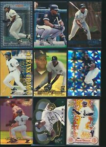 FRANK THOMAS Assorted Cards 1995-1999 Pick From List Insert Base Qty Discount