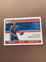 2019-20 Panini - Contenders Basketball - Draft Class: Darius Bazley