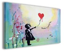 Quadri famosi Banksy X stampe riproduzioni su tela copia falso d'autore