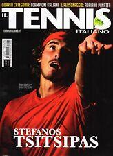 Il Tennis Italiano 2018 6.Stefanos Tsitsipas,Adriano Panatta,Ken Rosewall