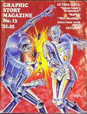 GRAPHIC STORY MAGAZINE #13 - 1971 comics fanzine - George Metzger, John Severin