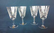 Original Yugoslavia Crystal Mouthblown Berkeley House Wine Glasses 4