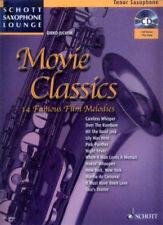 Movie Classics für Tenor-Sax mit  Play-Along Noten CD Dirko Juchem NEUWERTIG !