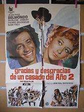A997 GRACIAS Y DESGRACIAS DE UN CASADO DEL AÑO 2. JEAN-PAUL BELMONDO, MARLENE JO