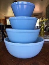 Pyrex RARE Delphite Mixing Bowls!!!