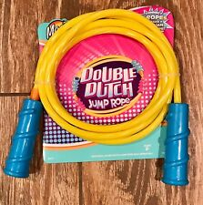 New Maui Double Dutch 7' Jump Rope Yellow Fitness