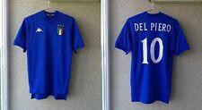 Italy 1998/1999 Home football shirt Jersey Soccer Kappa # Alessandro Del Piero