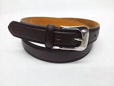 Echtleder Leder + PU Gürtel Jeans EDEL Breite 28mm, Länge 110 - 160 XXXXL (57)