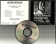 Mars Volta AT THE DRIVE IN Relationship of Command ADVNCE PROMO DJ CD Sparta USA