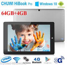 "10.1"" CHUWI HiBook Pro 3G Tablet 4GB/64GB Windows10+Android5.1 HDMI WiFi 2Cámara"