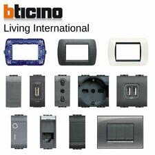 Bticino living international originale placche interruttore presa Livinglight