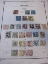 Recopilación, t u t, Thurn y Taxis, con sello con, entre otros, 13/19, 26/31, etc. (1109)