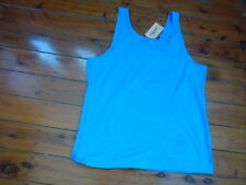 AVELLA Ladies Tank Top Blue Size 16
