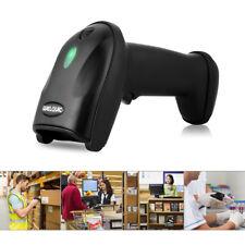 USB Laser Scanner Barcodescanner Barcodeleser Lesegerät Handscanner Kabellos DE