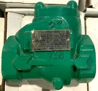 """2"""" 2000 PSI Working Pressure Threaded Ends Check Valve"""
