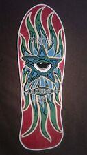 "Vision Joe Johnson Mini replica Skateboard Deck Shaped Sticker over 7"""