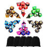 42pcs/Set  Acrylic Polyhedral Dice + Bag for DND RPG MTG Role Playing Board Game