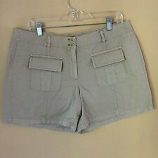Tommy Bahama Women's Size 14 NWT Khaki Shorts Twill Aubrey Fit Relaxed