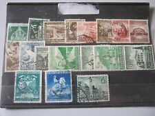 GERMANY  1936-1941  18 USED & MINT STAMPS from this period