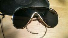 Vintage Original RAY BAN Wings sunglasses Bausch Lomb B&L  Gold frame