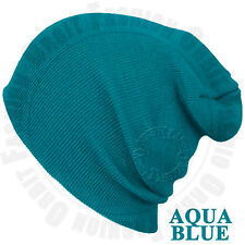 96a863cc1f077 Beanie Plain Knit Hat Winter Warm Cap Cuff Slouchy Skull Hats Ski Men Women