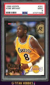 1996-97 Kobe Bryant NBA Hoops Rookie RC PSA 9