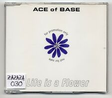 Ace Of Base CD Life Is A Flower - German 1-track promo CD -  569 800-2