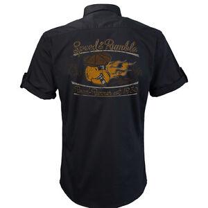 Worker Shirt, Hemd, Rockabilly, Rock'n'Roll, Hot Rod, V8, Speed and Rumble
