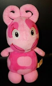 "Nickelodeon THE BACKYARDIGANS Plush Uniqua 10"" 2011 Fisher Price Stuffed Animal"