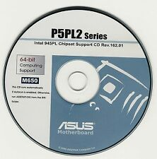ASUS GENUINE VINTAGE ORIGINAL DISK FOR P5LD2  P5LD2 DELX R2.0 MotherbDisk M650