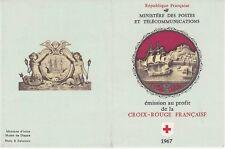 Carnet Croix Rouge 1967 - 8 timbres Non Oblitérés - Statuette du Musée de Dieppe
