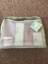 New Crabtree & Evelyn Aloe Vers Gift Box Set Body Wash,Cream,Foot & Leg,soap