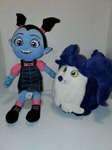 NWOT Disney Store Vampirina and Wolfie Plush Doll