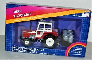 Massey Ferguson 284 S Tractor Farm With Milk Can's Siku Eurobuilt 1/32nd Scale