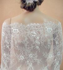 Chantilly Bridal Blondas 35 pulgadas de ancho para Proposals Bridal Vestido Y Accesorios veiling