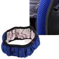 Anti-slip Breathable Handbrake Auto Car Steering Wheel Cover Cars Steering Blue