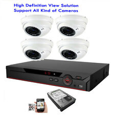 4Ch All-in-1 6Mp Dvr 4-in-1 2.8-12mm Varifocal Zoom 36Ir Cvbs Security Camera 6h