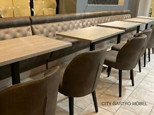 American Dinerbank nach maß Gastro Einrichtung Sitzbank 100cm Bar Lounge Sofa